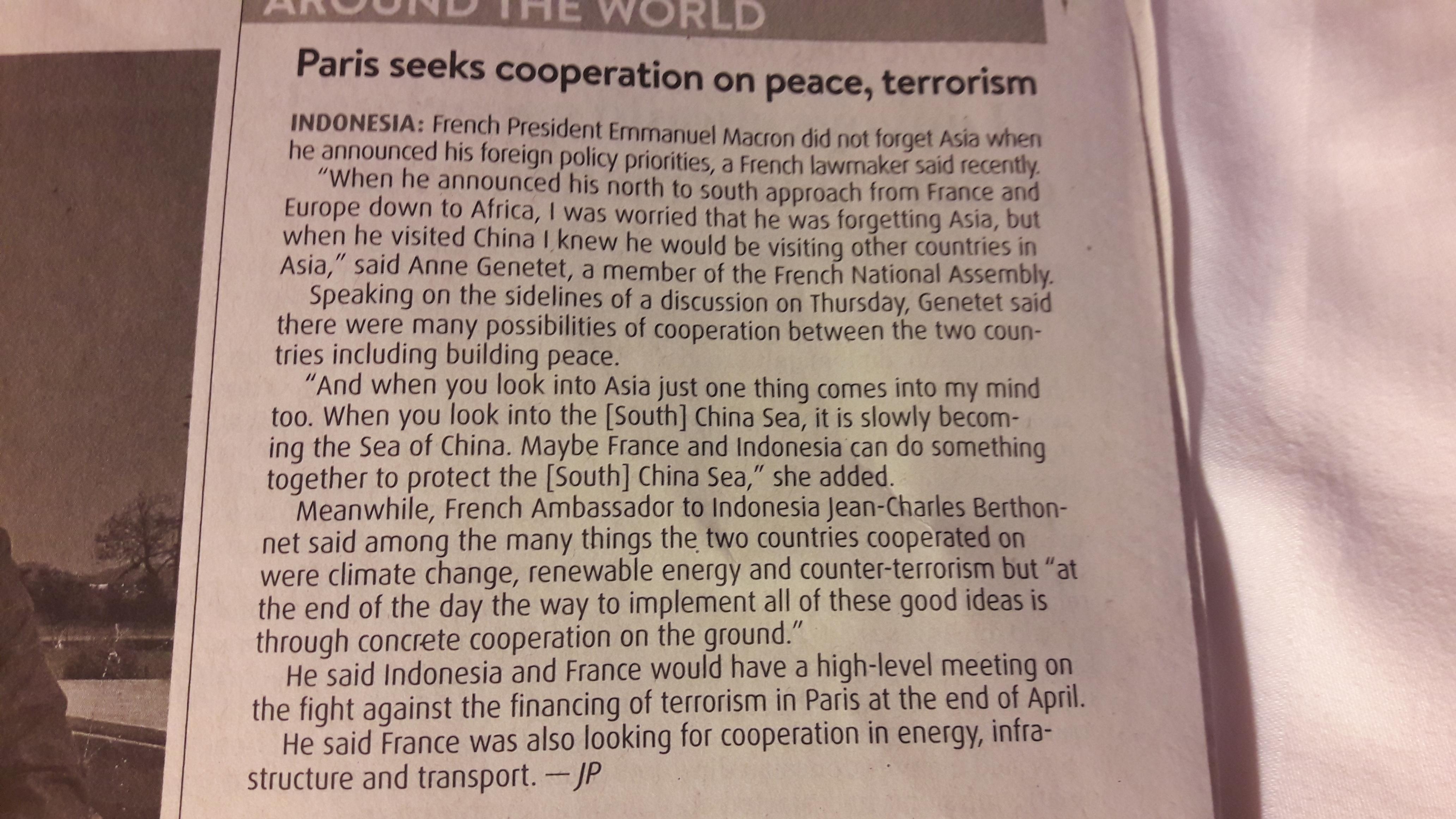 Photo Article Jakarta Post